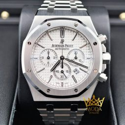 Audemars Piguet Royal Oak Chronograph 26320ST Eta Saat White Dial