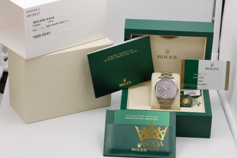 Rolex Oyster Perpetual 114300 box