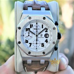 Audemars Piguet Safari Eta Saat Royal Oak Offshore 26170ST Kutulu