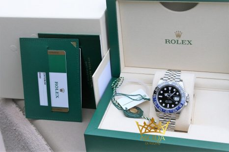 rolex gmt master 2 batman orjinal kutu box