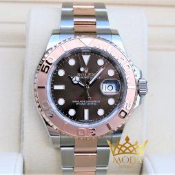 rolex yatch master chocolate 116621 rose gold eta saat