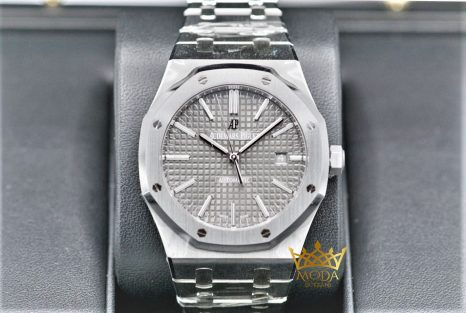 Audemars Piguet Eta Saat 15400 Royal Oak Rhodium Dial JF Factory