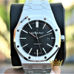 Audemars Piguet Eta Saat Black Dial 15400 Royal Oak JF Fabrika